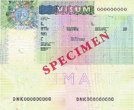 dansk visa